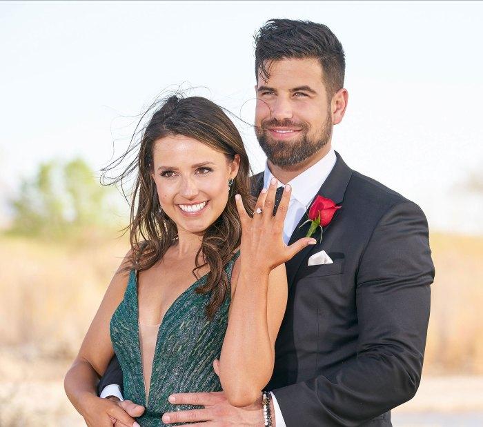 Despedida de soltera Katie Thurston Blake Moynes Anillo de compromiso de la línea de tiempo de la relación