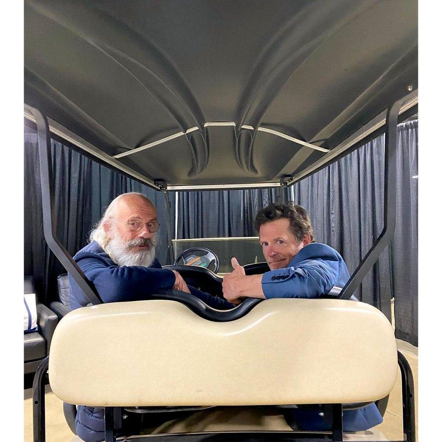 Back to the Future's Michael J. Fox, Christopher Lloyd Reunite on Golf Cart