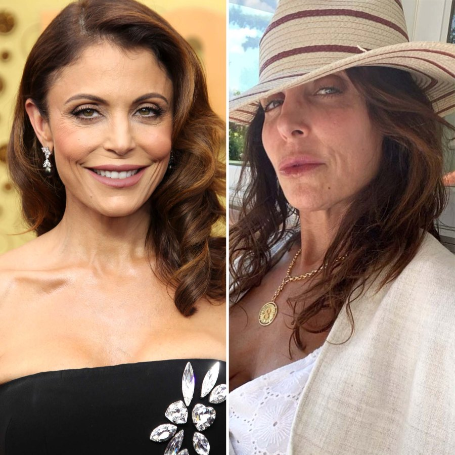 Bethenny Frankel 50 Shows Off Zero Filter Complexion Pic