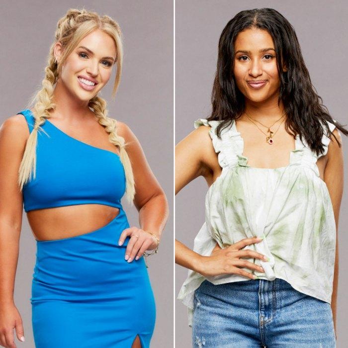 El elenco de Big Brother 23 comparte sus talentos más inesperados vestido azul