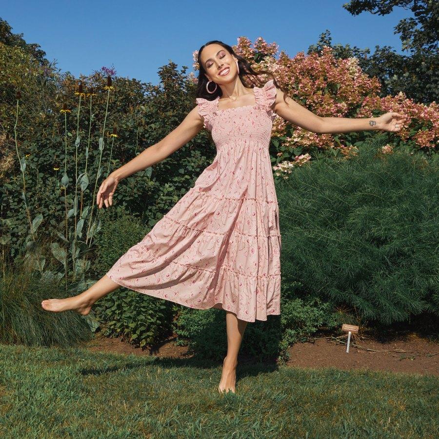 Bridgerton Hill House Just Dropped The Most Promenade Worthy Dresses Pink Flower Dress