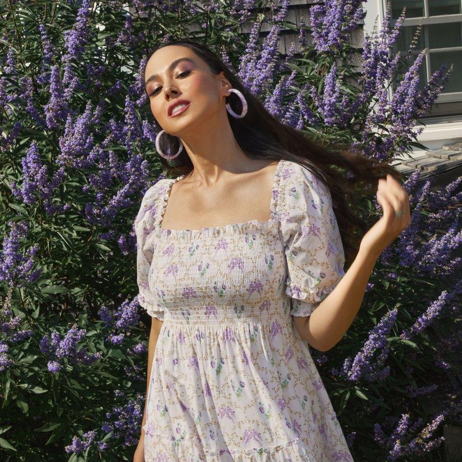 Bridgerton Hill House Just Dropped The Most Promenade Worthy Dresses Purple Flower Dress