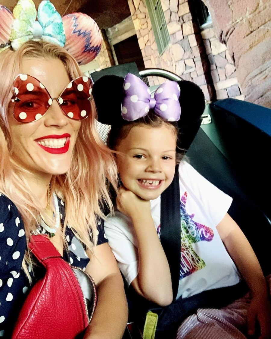 Busy Philipps and Mark Silverstein's Family Album With Birdie and Cricket Disney Day