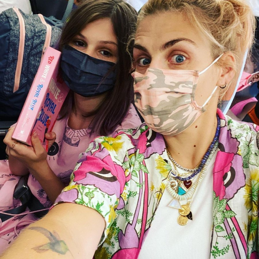 Busy Philipps and Mark Silverstein's Family Album With Birdie and Cricket Flight Fun