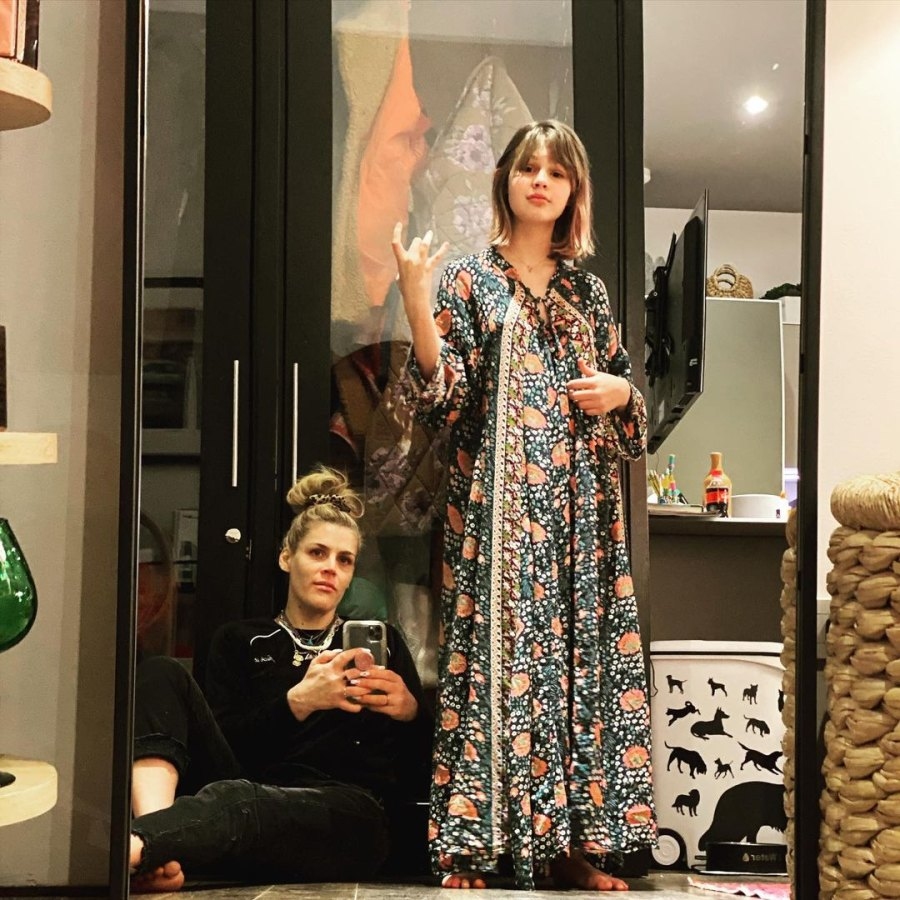 Busy Philipps and Mark Silverstein's Family Album With Birdie and Cricket Mirror Mirror