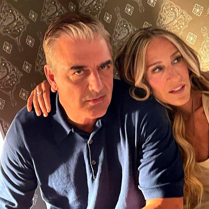 Carrie y Big se reencuentran en las fotos de la serie secuela de 'Sex and the City'