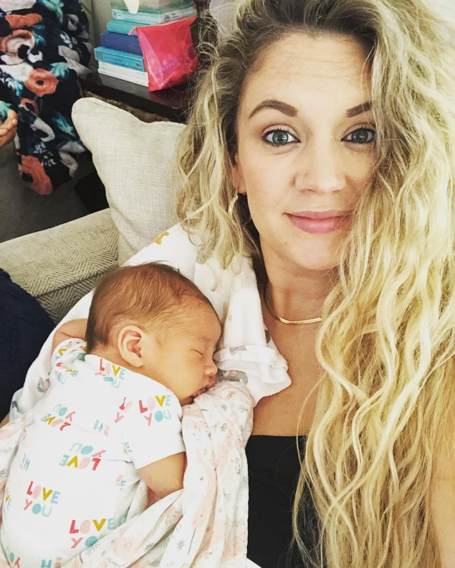 Celeb Moms Who Suffered From Mastitis Over the Years Tiffany Thornton