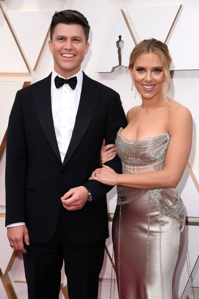 Colin Jost and Scarlett Johansson Was in the Hospital in Labor When Disney Issued Black Widow Lawsuit Response