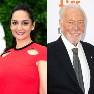 Departures Archie Panjabi Reflects Working With Charming Christopher Plummer His Final Role He Was Magnetic