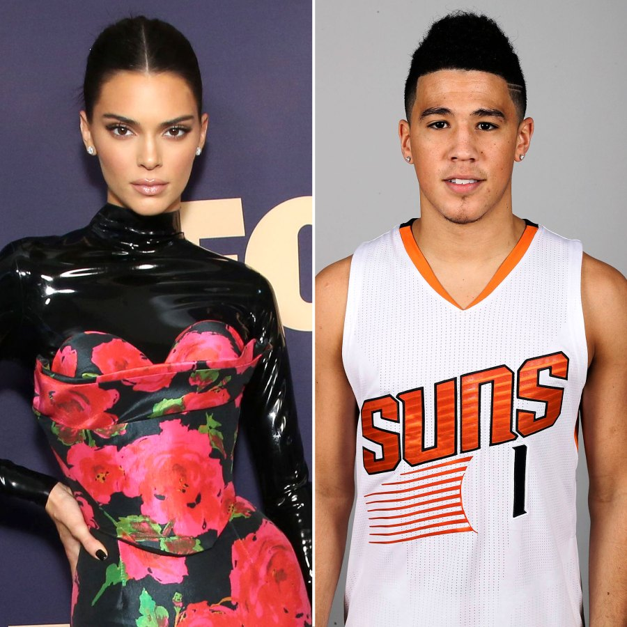 Devin Booker Proudly Supports Girlfriend Kendall Jenner at 818 Tequila Hamptons Launch