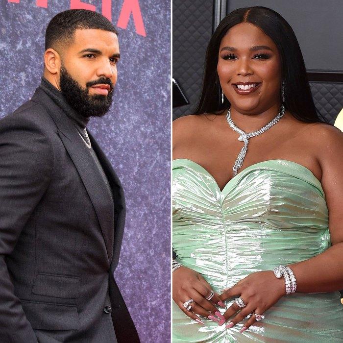 Drake escuchó la letra de los rumores de Lizzo NSFW y lo alcanzó