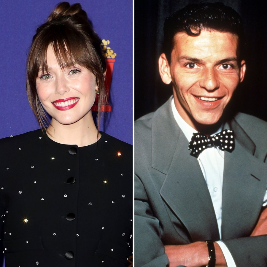 Elizabeth Olsen Used to Be 'in Love' With Frank Sinatra Growing Up