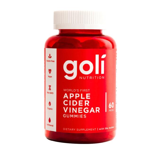 Gomitas de vinagre de sidra de manzana Goli