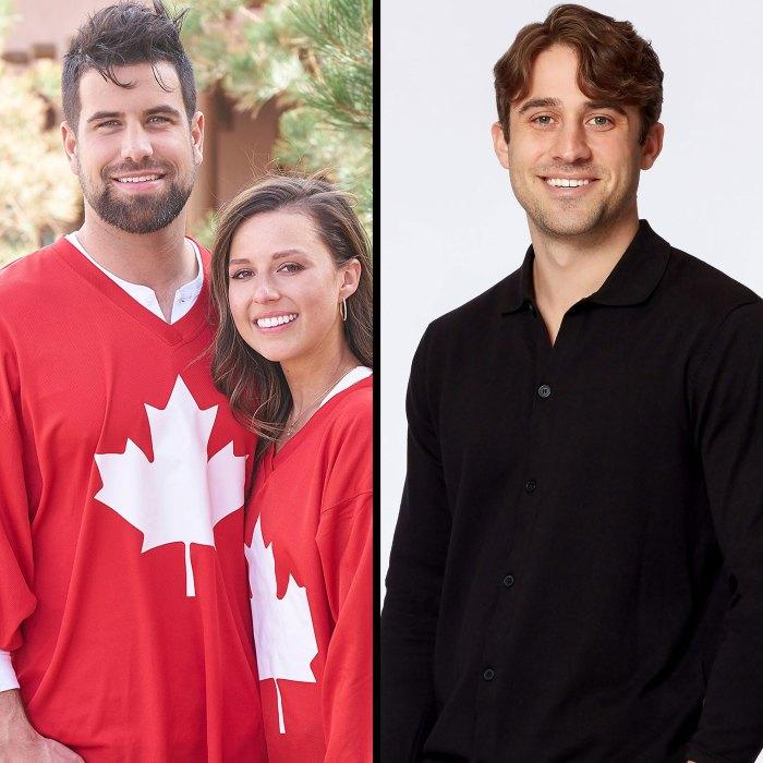 HFTRR Katie Blake Mensaje a personas que piensan que ella no ha superado a Greg Camisa roja Bandera canadiense