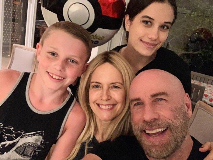Cómo John Travolta habló sobre la muerte de su esposa Kelly Preston a su hijo Ben de 10 años
