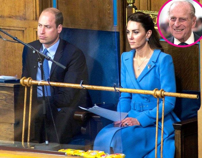 Cómo William Kate está afrontando un momento difícil después de la muerte del príncipe Philips