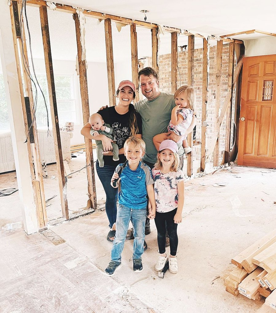 Inside Celebrities Home Builds Their Families Zachary Whitney Bates