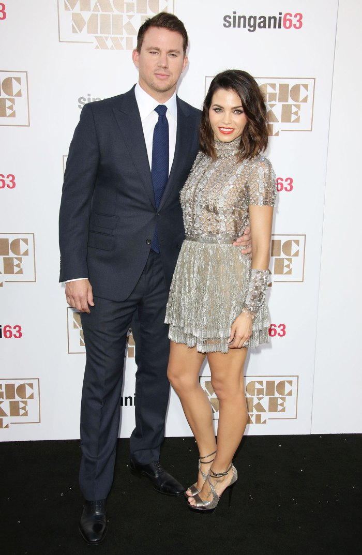 Jenna Dewan aclara comentarios que nunca golpearía a Channing Tatum