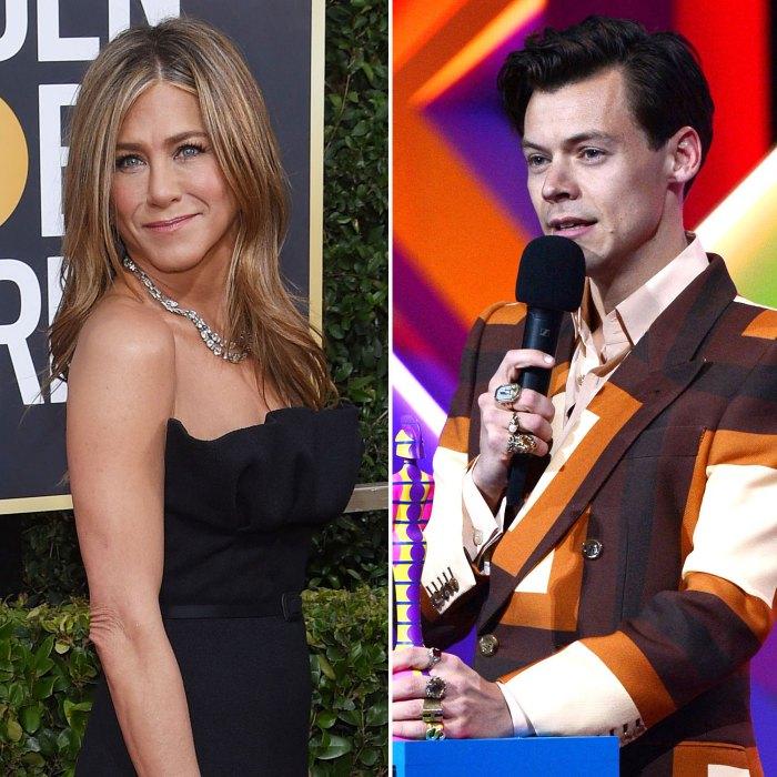 Jennifer Aniston acaba de usar el mismo traje de Gucci Harry Styles