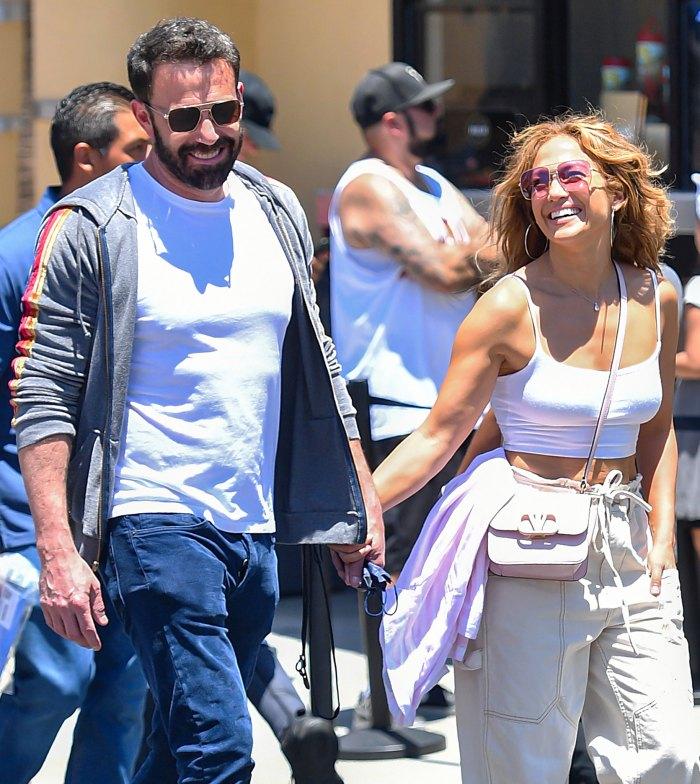 Jennifer Lopez y Ben Affleck llevan a sus hijos a ver 'Hamilton' en Los Ángeles