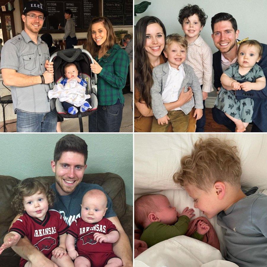 Jessa Duggar and Ben Seewald Family Album