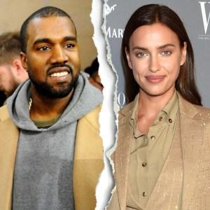 Kanye West Irina Shayk Officially Split