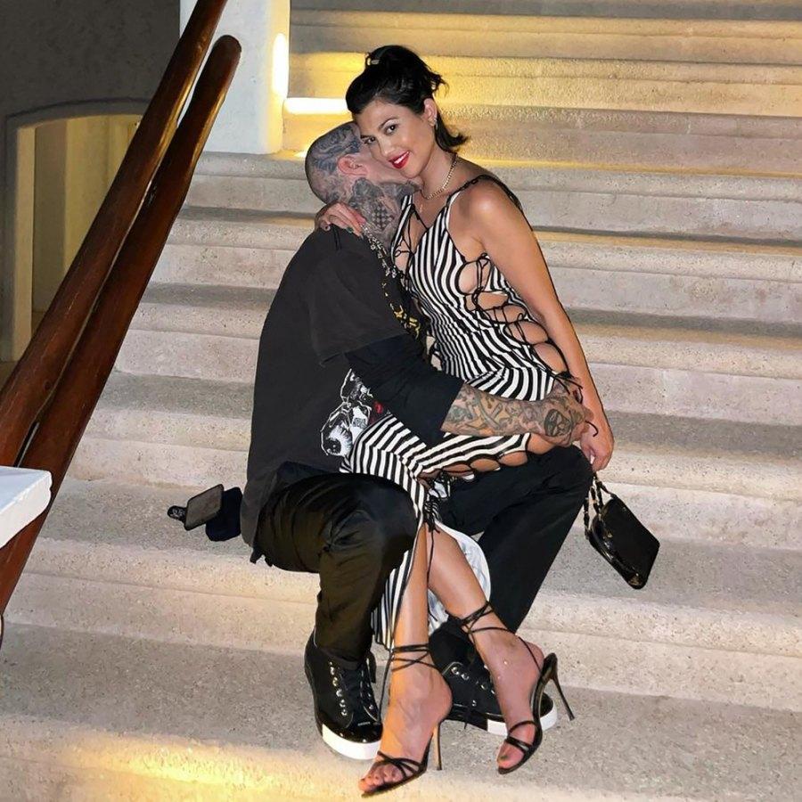 Kourtney Kardashian and Travis Barker Tour Italy After Rocker Overcomes Flying Fear