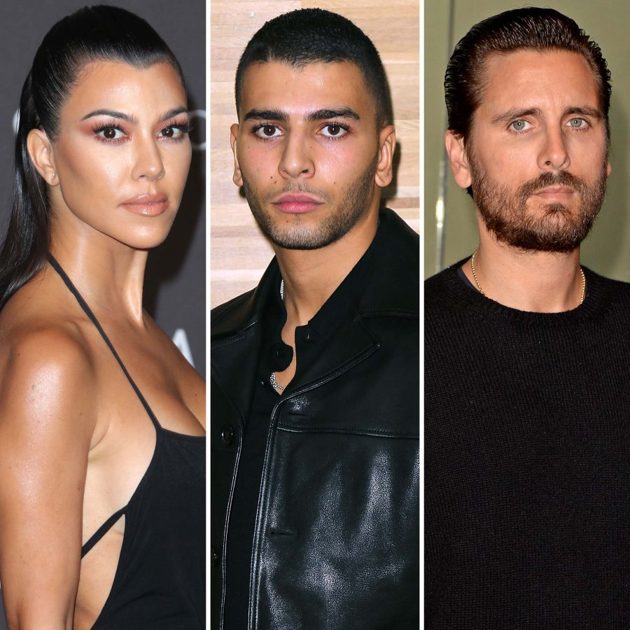 Kourtney Weighs Every Reaction Younes Calling Out Scott About Their Ex
