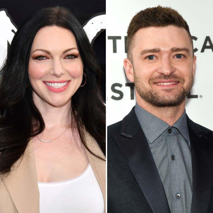 Laura Prepon deja Scientology Justin Timberlake East