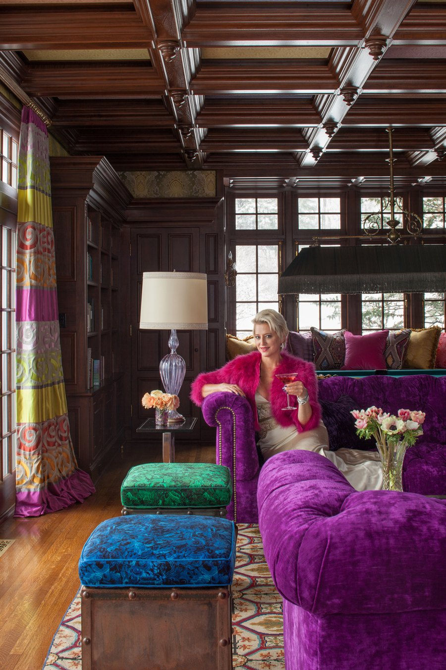 Library Dorinda Medley Mick Hales Real Housewives of New York's Dorinda Medley Is Renting Out Her 18-Acres Blue Stone Manor