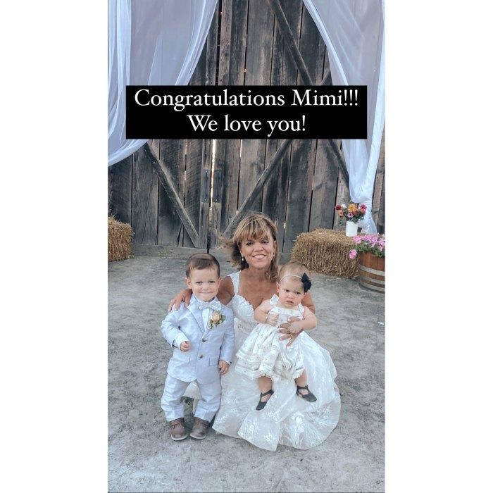 Little People Big World's Amy Roloff se casa con Chris Marek en Family's Farm en Oregon