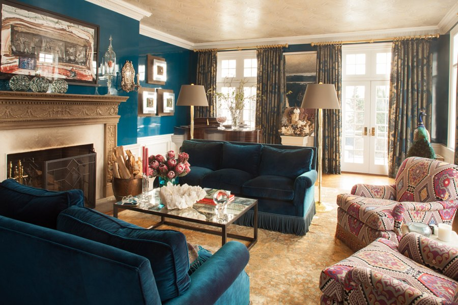 Living Room Angle Mick Hales Real Housewives of New York's Dorinda Medley Is Renting Out Her 18-Acres Blue Stone Manor