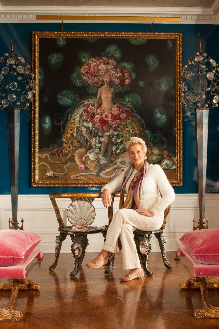 Living Room Dorinda Medley Mick Hales Real Housewives of New York's Dorinda Medley Is Renting Out Her 18-Acres Blue Stone Manor