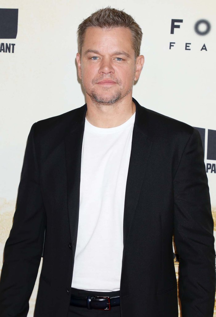 Matt Damon Insists Hes Never Used F Slur After Getting Backlash Past Comments
