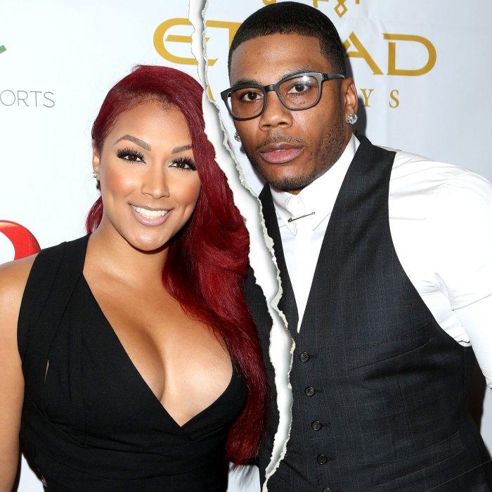 Nelly y Shantel Jackson se separan después de que ella revela que son 'solo amigos'