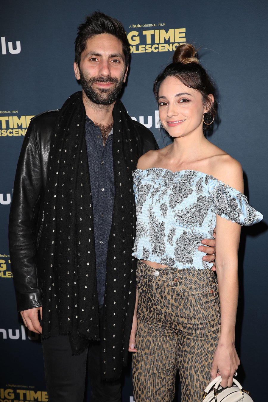 Nev Schulman's Wife Laura Perlongo and More Pregnant Stars in Bathing Suits Promo