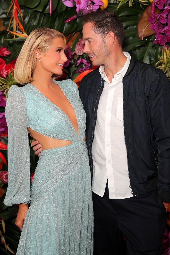 Paris Hilton planea tener 10 vestidos de novia para su gran día Carter Reum