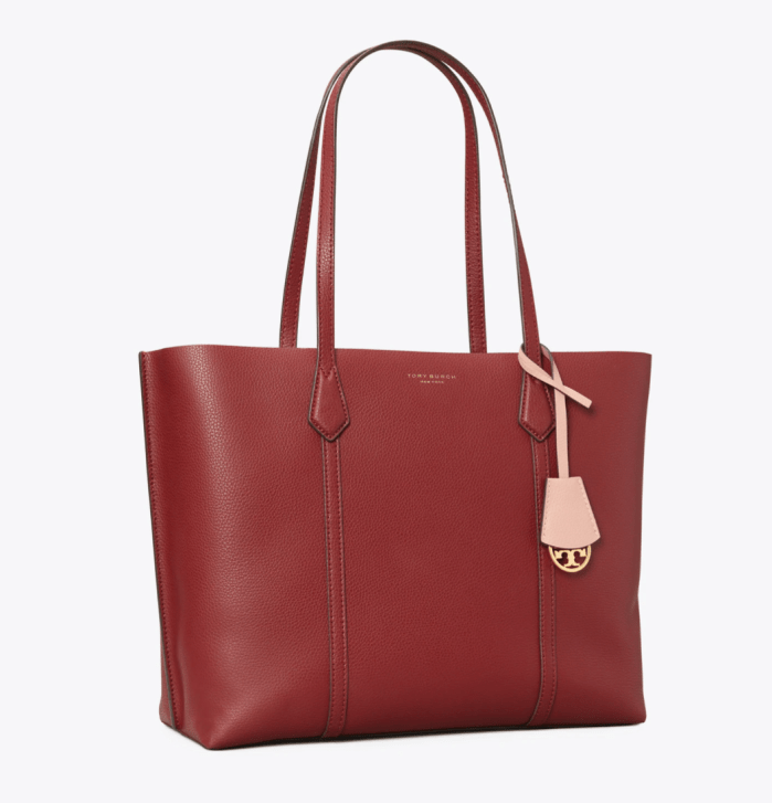 Perry Triple Compartment Tote Bag