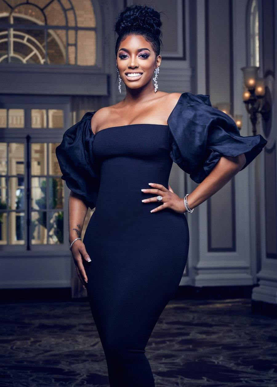 Porsha Williams Shuts Down Plastic Surgery, Says 'It's Ok' to Have a 'Fupa or Gut'