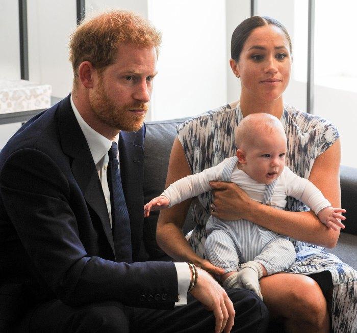 El príncipe Harry y Meghan Markle son considerados una persona preocupada por Archie Skin