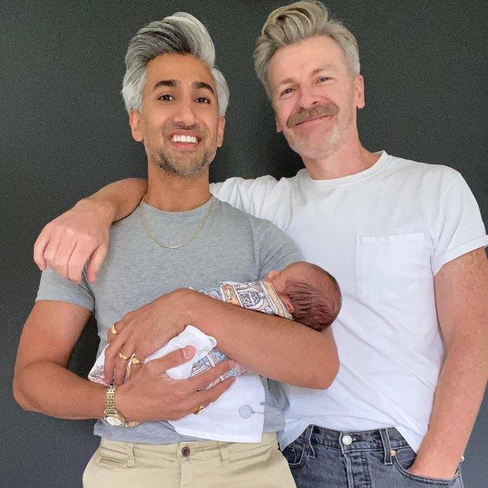 Tan France de Queer Eye y su esposo Rob France dan la bienvenida a su primer hijo a través de un sustituto