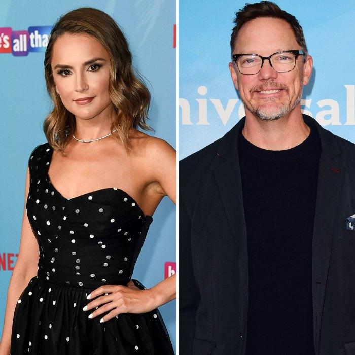 Rachael Leigh Cook y Matthew Lillard llevan a los niños al estreno de 'Él es todo eso'
