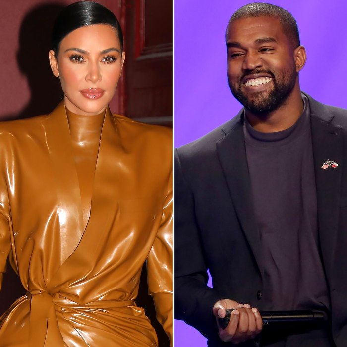 ¡Reunidos!  Kim Kardashian vista con Kanye en Malibú en medio de un divorcio