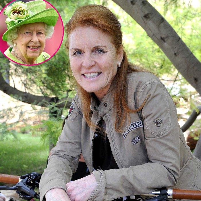 Sarah Ferguson se entusiasma con su ex suegra, la reina Isabel, es tan moderna
