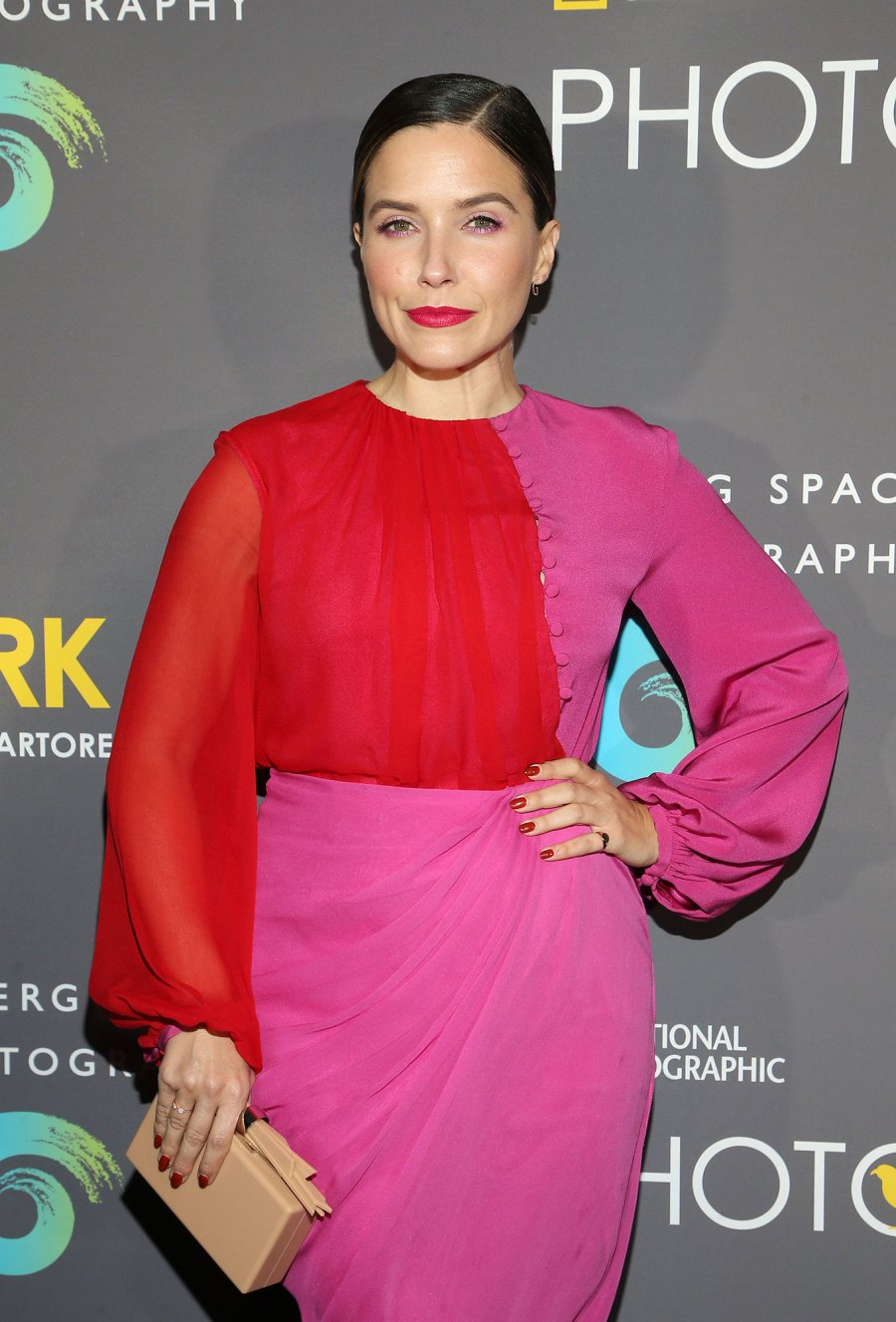 Sophia Bush Best Quotes About Love Marriage Ahead Grant Engagement Pink Dress
