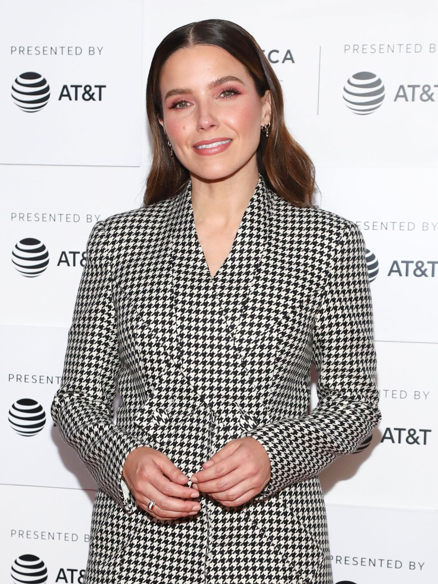 Sophia Bush Best Quotes About Love Marriage Ahead Grant Engagement Checkered Dress