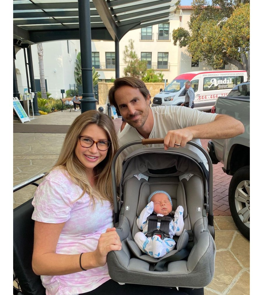 Southern Charm Ashley Jacobs Gives Birth Welcomes 1st Child With Husband Mike Appel 11