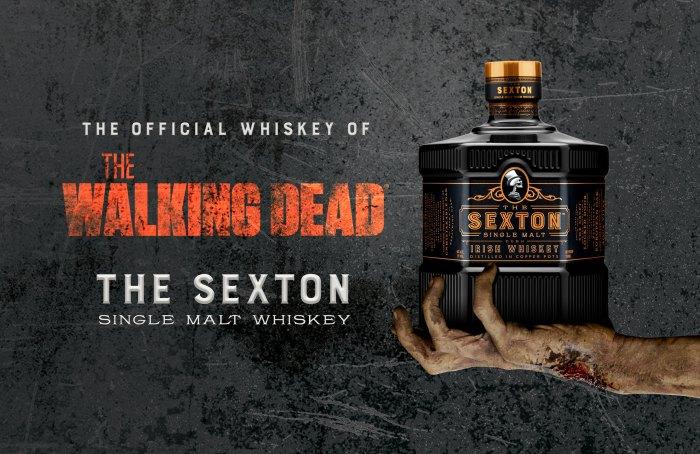 'The Walking Dead' se une a The Sexton Single Malt Whisky para una alianza de temporada final