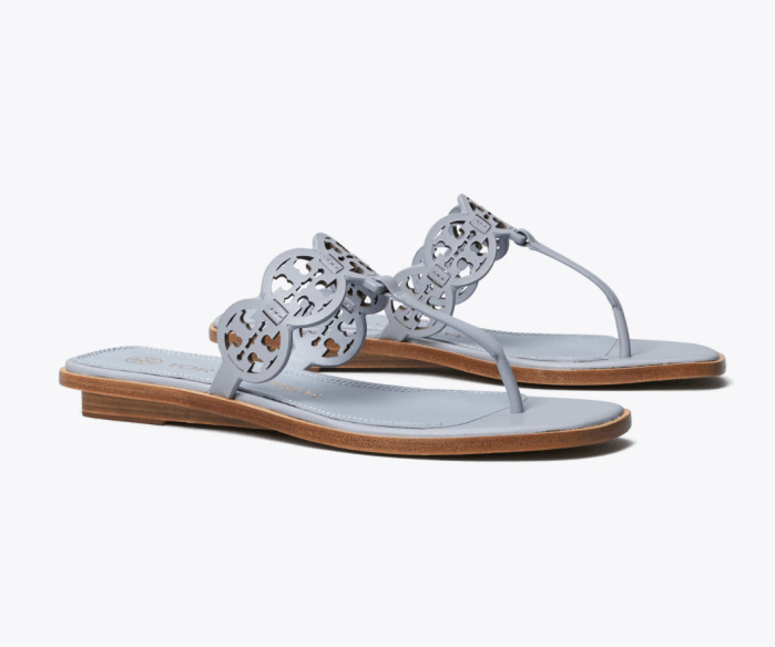 Tiny Miller Thong sandals, leather