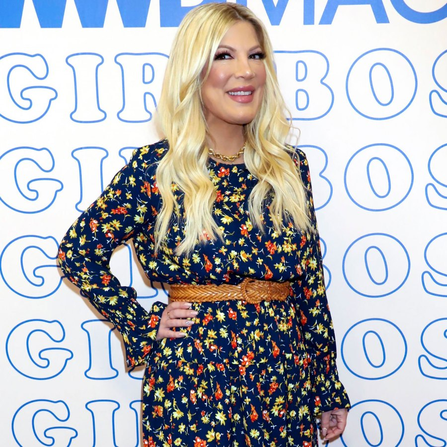 Tori Spelling Is 'Encouraging' Her Kids to Stay in Their Own Beds After Co-Sleeping Confession